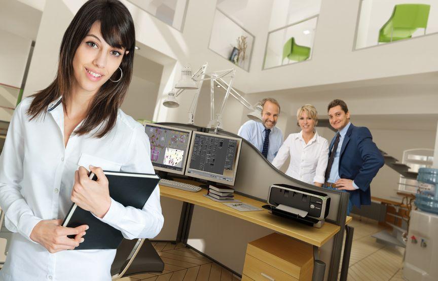 14230275 - people in a modern beautiful office
